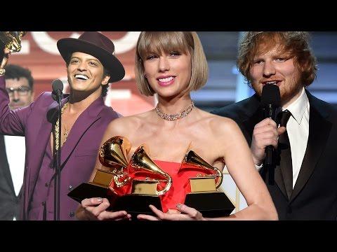 Ganadores de Premios Grammy 2016: Taylor Swift, Ed Sheeran y Más