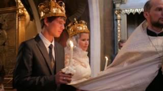 Православное венчание Антона и Ирины 2016