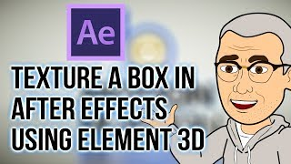 How To Texture a Box Using Video Copilot Element3D