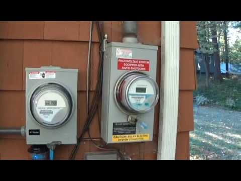A look at my solar panel installation
