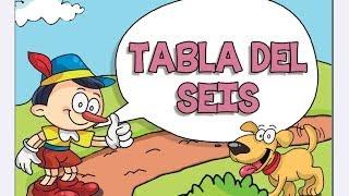 Canciones las Tablas de Multiplicar del 1 al 10 - TABLA DEL SEIS (6)