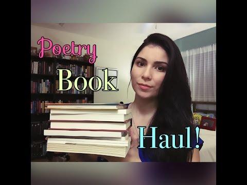 Poetry Book Haul!