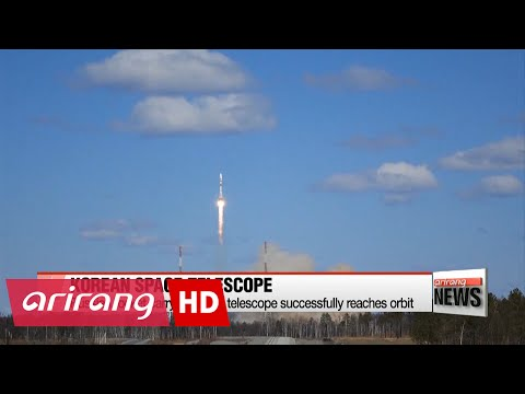 S. Korea's space telescope sent into orbit