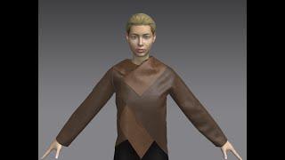 Marvelous Designer - Asymmetrical Patterns