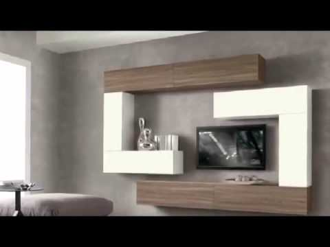 soggiorno componibile moderno - YouTube
