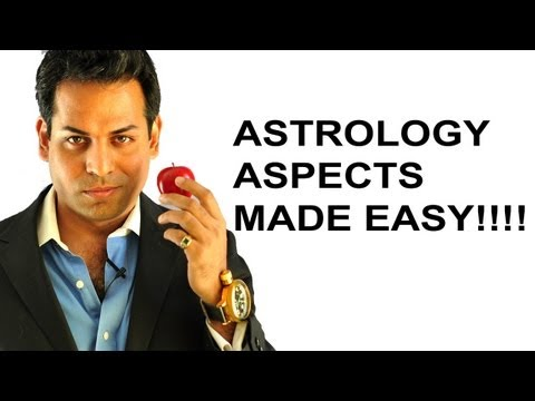 Astrology lesson 1: Astrology aspects made easy (What are astrology aspects) SATURN