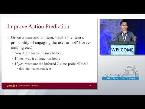 PS1: Interpreting user inaction in recommender systems Qian