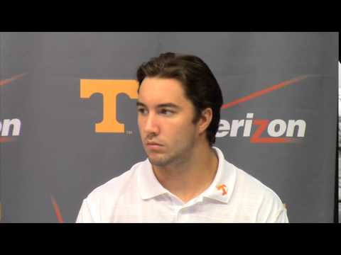 Justin Worley, Nathan Peterman and Joshua Dobbs Pre-Camp Press Conference (7/31/14)