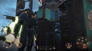 Fallout 4 ПОЛНЫЙ СЕТ СИЛОВОЙ БРОНИ X-01