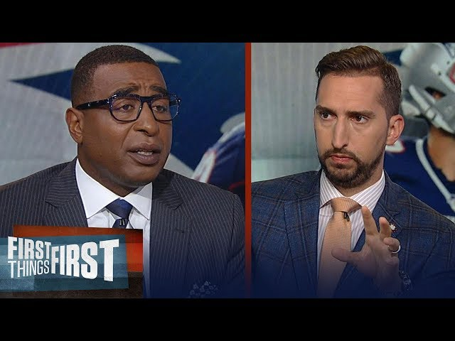 Cris and Nick react to Antonio Brown agreeing to 1-yr deal with Patriots | NFL | FIRST THINGS FIRST