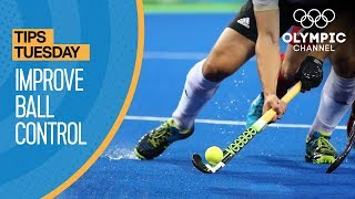 How To Improve Ball Control in Hockey ft. Robbert Kemperman | Olympians' Tips