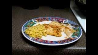 Baked Swai Fish-um Um Good