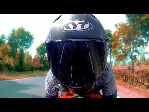 CINEMATIC, Helmet KYT NFR, Ride With CBR250RR