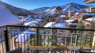 Solaris Penthouse For Sale in Vail Colorado