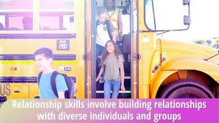 SOCIAL EMOTIONAL LEARNING VIDEO LESSONS - WEEK 12 RELATIONSHIP SKILLS