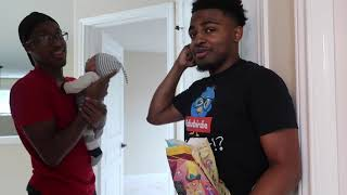 BUYING DRE AND KEN A KIDS MEAL PRANK !