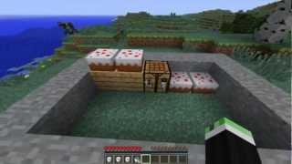 Minecraft: Como hacer un pastel.