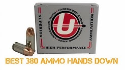 The 380 ACP Doesn't Suck Anymore!!! Best 380 ACP Ammo Hands Down!!!