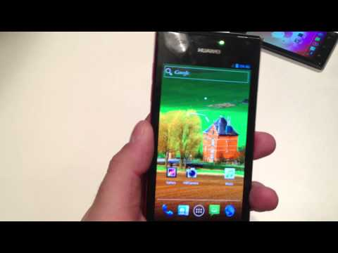 Huawei Ascend P1/P1S hands on