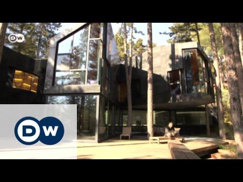 Modern architecture in pine woodlands   Euromaxx