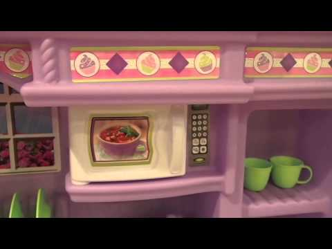 Skyu0027s Lil Kitchen ( Step2 Little Bakers Kitchen)   YouTube