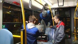 Установка камер в автобусах