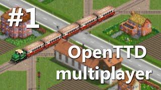 OpenTTD multiplayer   #1   Nová série s CZTR grafikami!