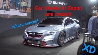Subaru Concept Car | Car shows in Japan are CRAZY!
