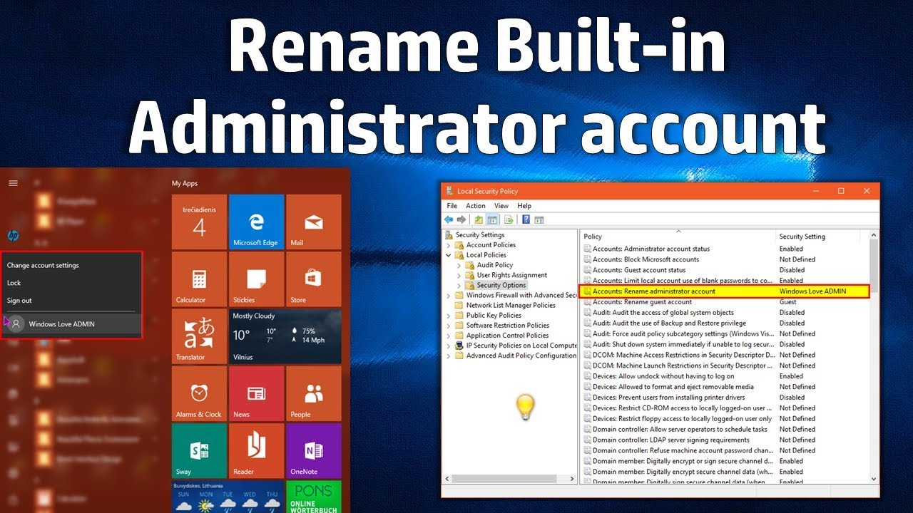 how to always start windows 7 in local mode