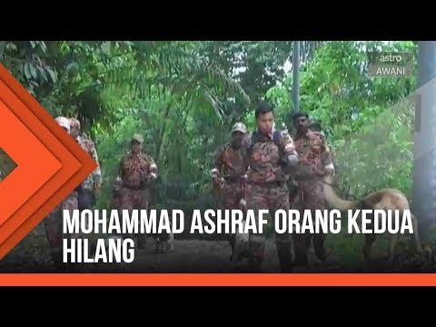 Mohammad Asyraf orang kedua hilang