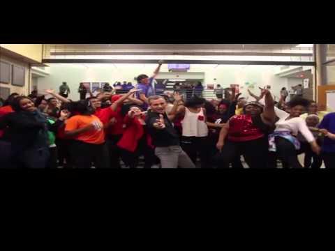 A  Maceo Smith New Tech High School   Uptown Funk Dance