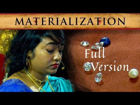 Demonstration of Superpower by Disciple of Nithyananda: Materialization of Diamonds and Pearls(Full)
