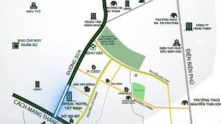 Dự án Khu Đô Thị mới Trung Tâm P3 TP Tây Ninh