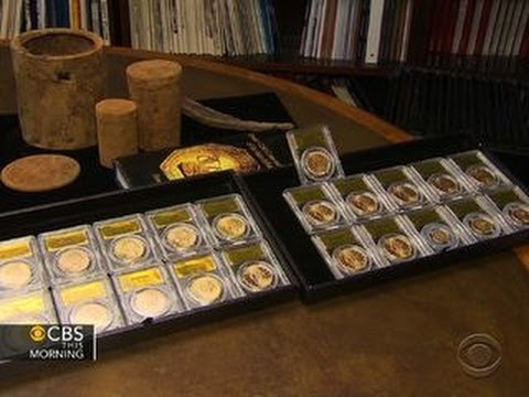 Buried treasure: California couple finds rare U.S. gold coin
