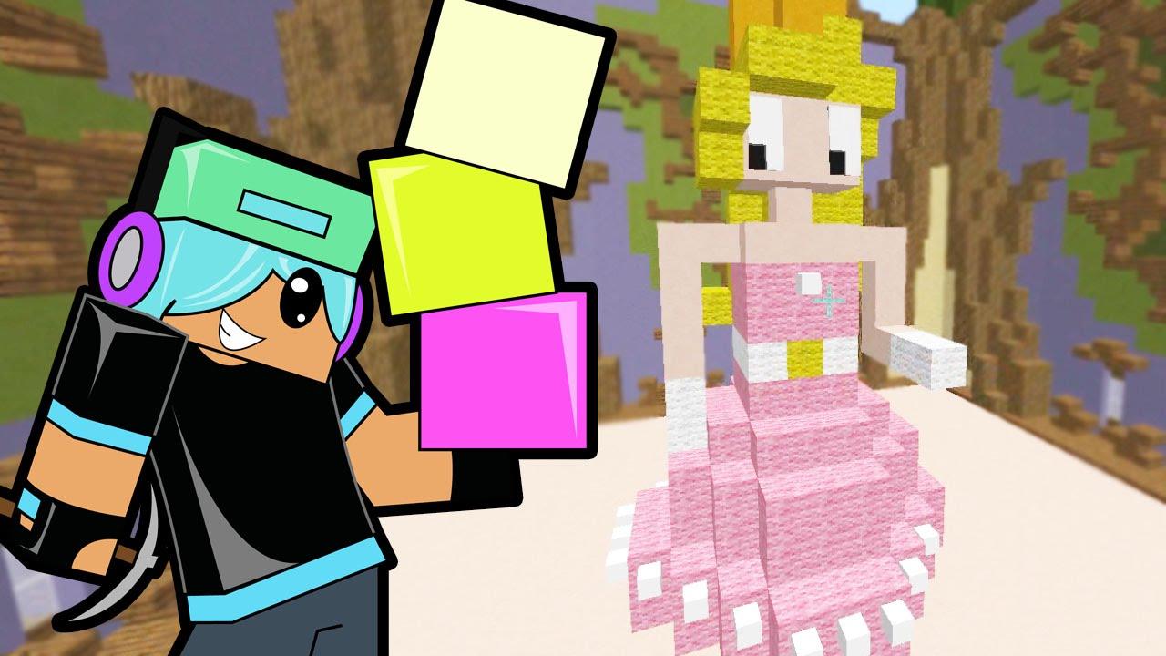 Minecraft Build Battle Princess And Castles Gamer