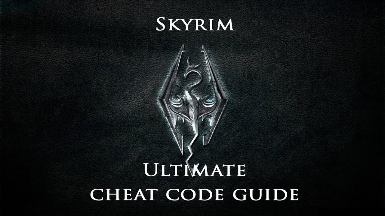 How to use codes on Skyrim on the souls of dragons 51