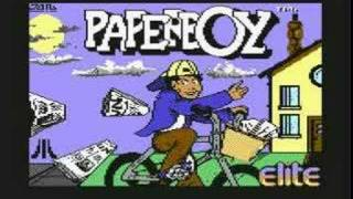 Paperboy Commodore 64 Main Theme