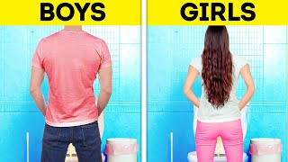 BOYS VS. GIRLS || Funny Difference Between Women And Men || Relatable Couple Moments