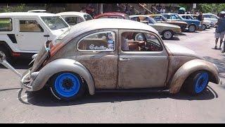 Fusca 68 - Volkswagen Garage - Encontro de Carros Antigos