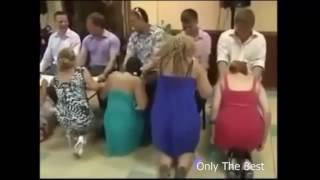 Супер прикол на свадьбе