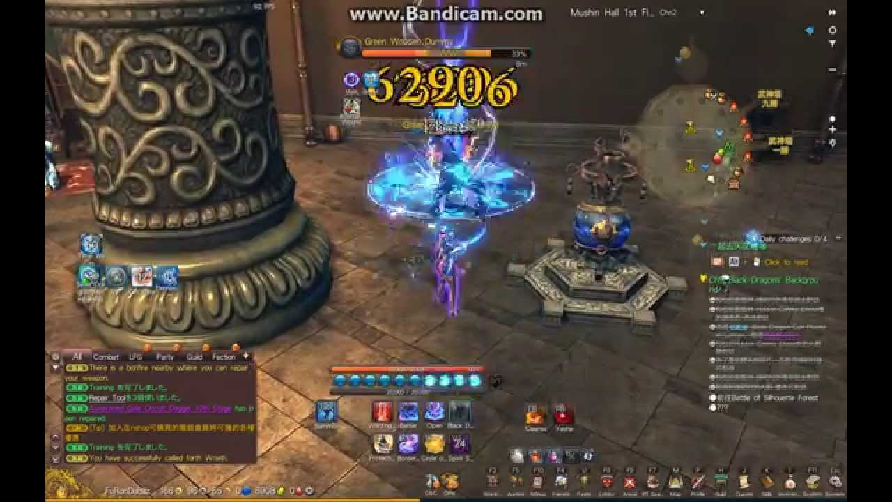 blade and soul tw warlock skills cycle without macro youtube