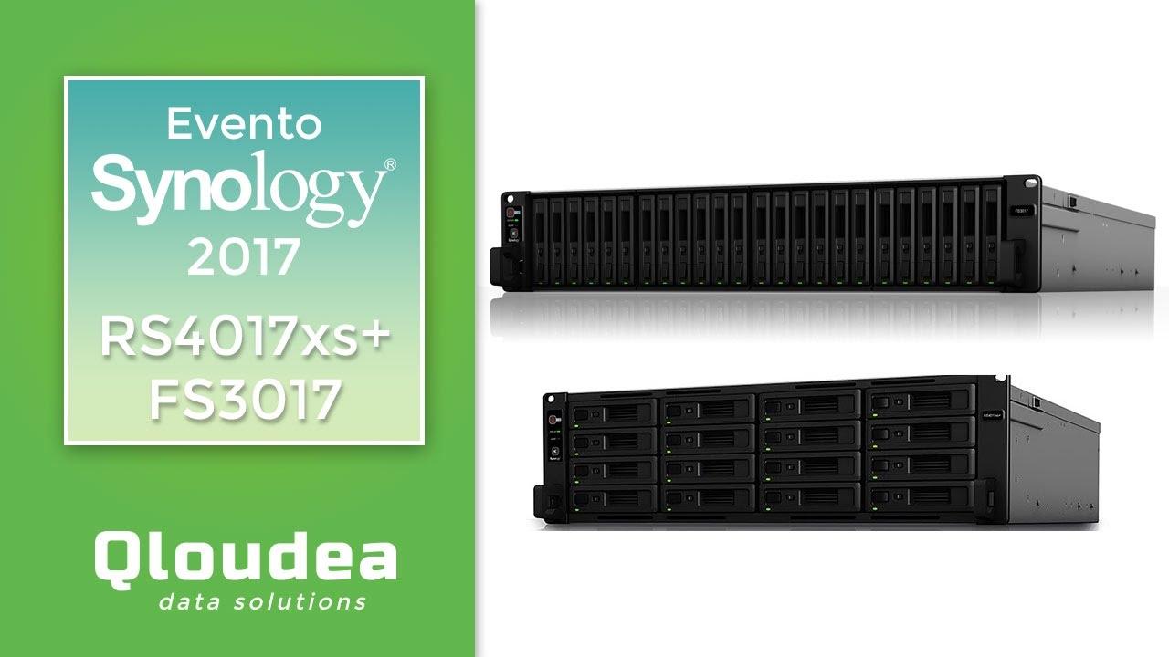 Presentación FS3017 y RS4017xs+ Rack Full Flash SSD - Synology Event [8/11]