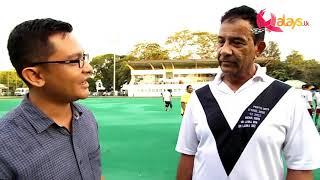 COSMOS Hockey Team Capt. Ian Jennings speaks to Malays.lk