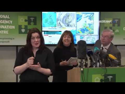 National Emergency Co-ordination Group Briefing on Extreme Weather
