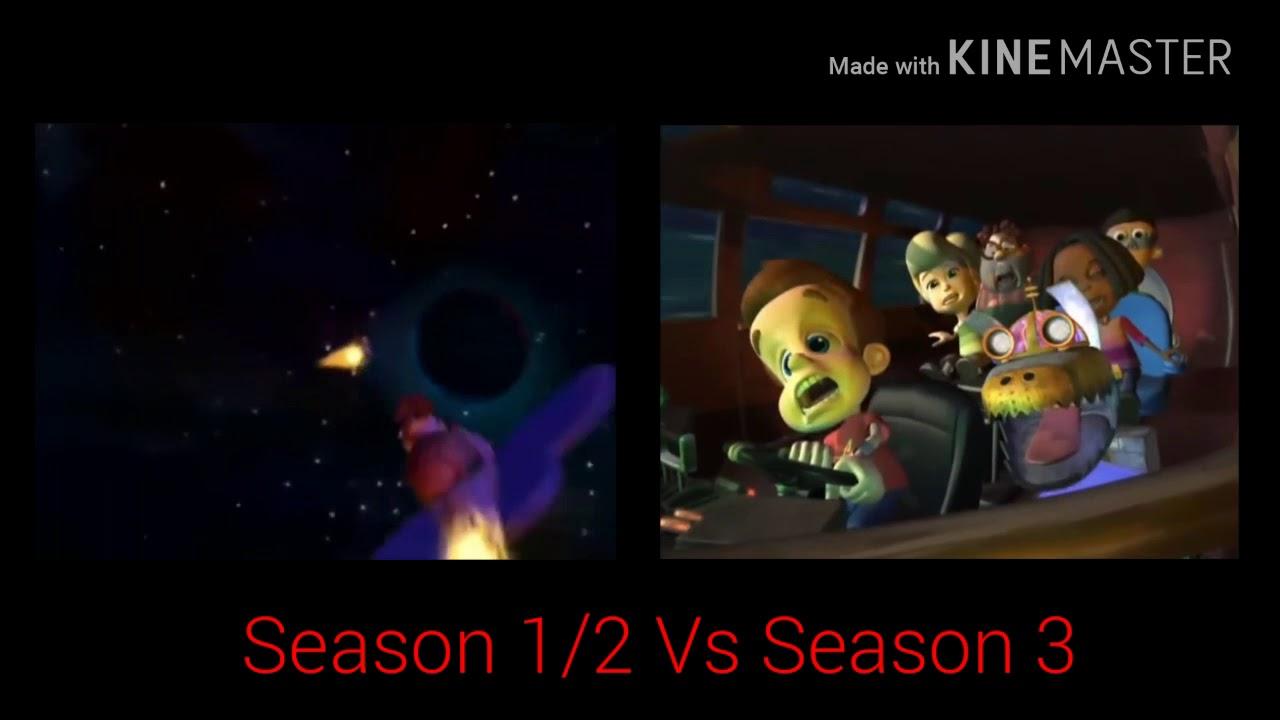 Download The Adventures Of Jimmy Neutron Boy Genius Season 1/2 Vs Season 3