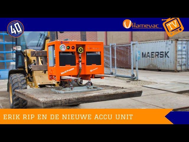 Erik Rip en de nieuwe Accu unit HamevacTV Aflevering 11