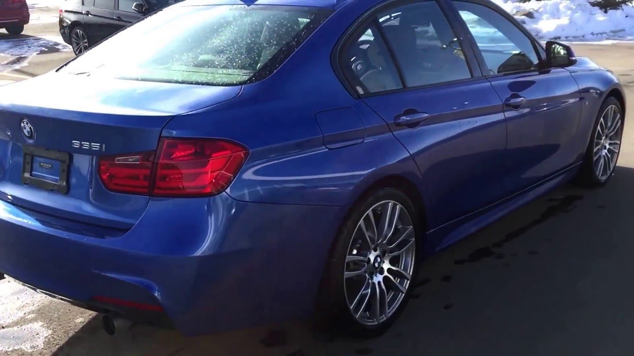 2014 bmw 335i xdrive in estoril blue metallic w m performance package ii youtube. Black Bedroom Furniture Sets. Home Design Ideas