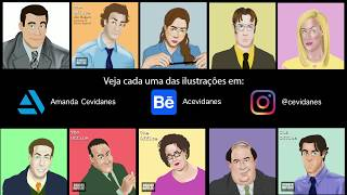 #FanArt  - The Office characters