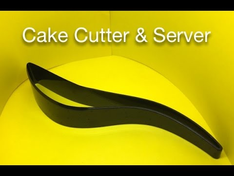 Cake Cutter and Server