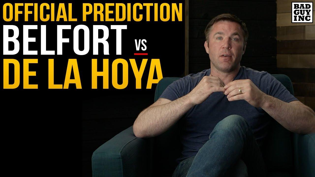 Official Prediction: Vitor Belfort vs Oscar De La Hoya